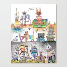 Estos Cabrones Canvas Print