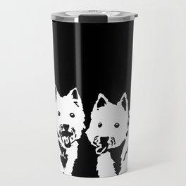 """West Highland Terrier """"The Westie"""" Man's Best Friend Travel Mug"""