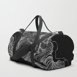 Today My Thoughts Are Messy Duffle Bag