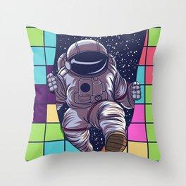 tetris space  by joejr  Throw Pillow