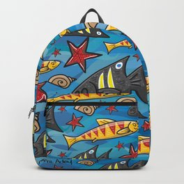 Bondi Blue Backpack