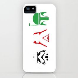 Stormtrooper, Darth Vader, Bounty Hunter iPhone Case