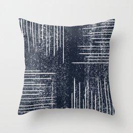 glacier print Throw Pillow