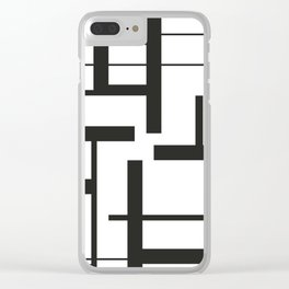 Lines #3 Clear iPhone Case