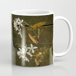 Shadbush Flowers Coffee Mug