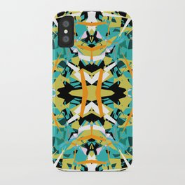 Abstract Symmetry iPhone Case