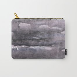 Gray nebulous wash drawing painting Carry-All Pouch