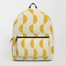 Gwynne Pattern - Golden Backpack