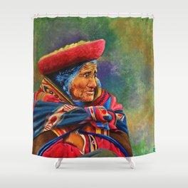 Las marcas del Cuzco Shower Curtain