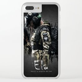 Ela Clear iPhone Case