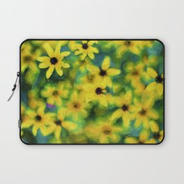 Flower Abstract Laptop Sleeve
