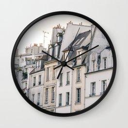 Paris Street Style No. 4 Wall Clock