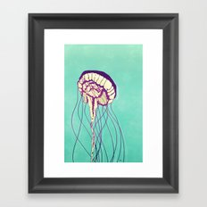 Under the Turquoise Sea Framed Art Print