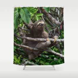 Sloth_20171106_by_JAMFoto Shower Curtain