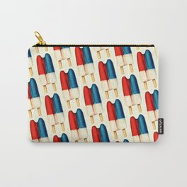 Popsicle Pattern - Double Carry-All Pouch