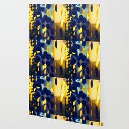 GLAM CIRCLES #Blue #1 Wallpaper
