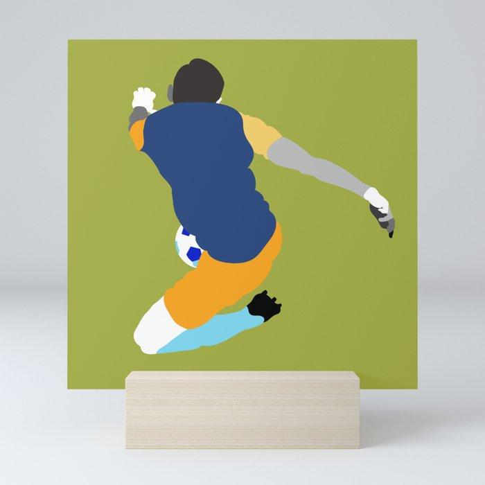 Soccer No.2 Mini Art Print