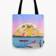 Pink lake Tote Bag