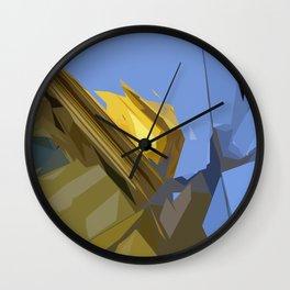 Budapest Sky's  Wall Clock