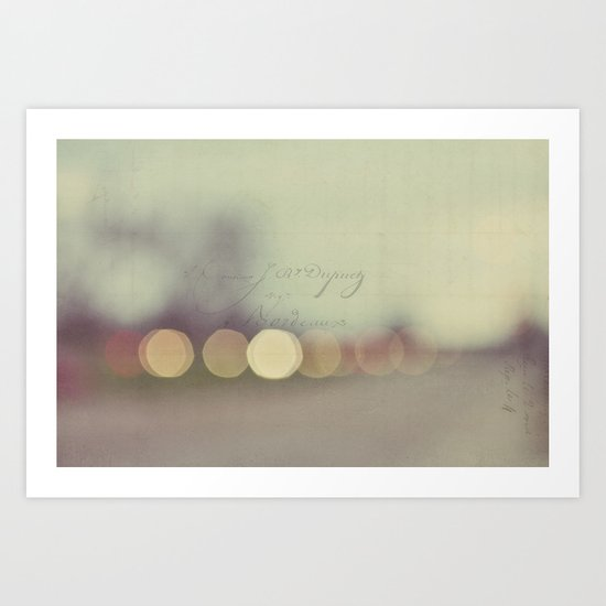 evening light Art Print