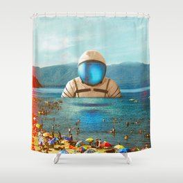 The Social Attempt Shower Curtain