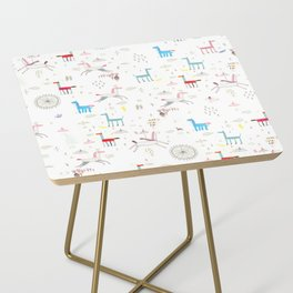 Merry-go-round Side Table