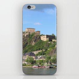 Koblenz mit Festung Ehrenbreitstein iPhone Skin