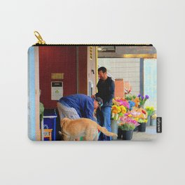 The Morning Constitutional Times Two By Four Carry-All Pouch