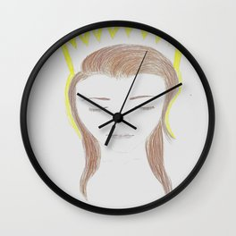 Queen of the Water Wall Clock