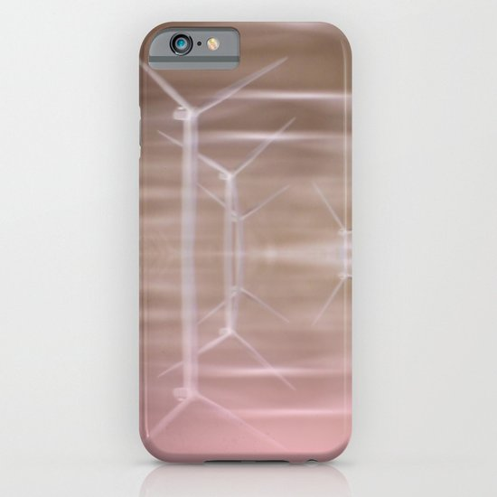 Ghostly turbines iPhone & iPod Case