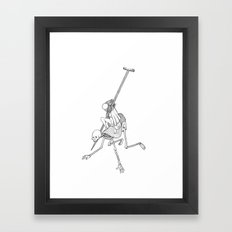 In The Devil's Snare (Two) Framed Art Print