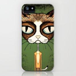 Grumpy Kato iPhone Case