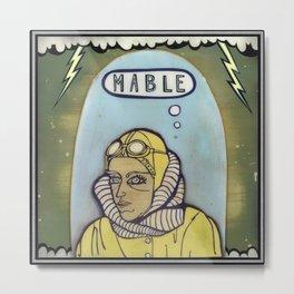 Mable Metal Print
