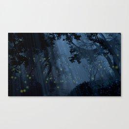 Dapplewood (Night) Canvas Print