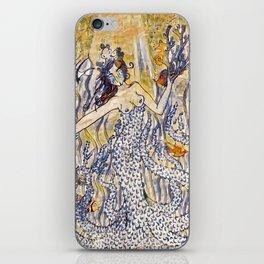 Coral Queen iPhone Skin