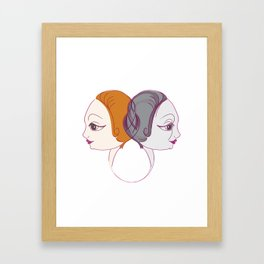 Young&Old Framed Art Print