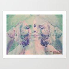 KALEIDOSCOPIC DREAMS Art Print