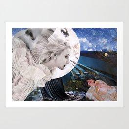 Diana & Endymion Art Print
