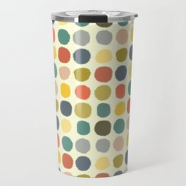 baby ikat spots cream Travel Mug