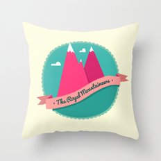 The Royal Mountaineers Throw Pillow