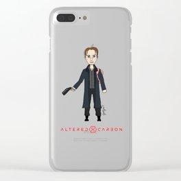 Takeshi Kovacs Clear iPhone Case