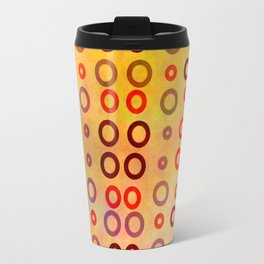 Playful circles Travel Mug