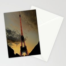 Tower Sunset Stationery Cards