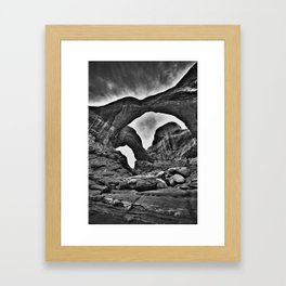 Double Arch - Arches National Park Framed Art Print