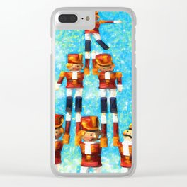 Toy Soldiers Clear iPhone Case