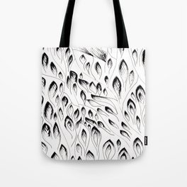 Zentagle feathers Tote Bag