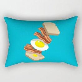 Bacon Sandwich Rectangular Pillow