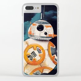 Droid art Clear iPhone Case