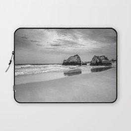 Stone beach Praia da Rocha Laptop Sleeve