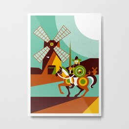Don Quijote Metal Print